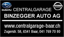 Centralgarage Binzegger Auto AG