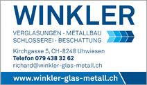 Winkler Verglasungen, Metallbau & Reparaturen
