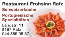 Restaurant Frohsinn Rafz
