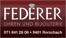 Federer Uhren und Bijouterie