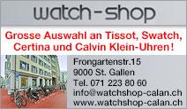 SWATCH-Verkauf WATCH-Shop