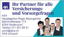 AXA Winterthur – Hauptagentur Roger Baumgartner