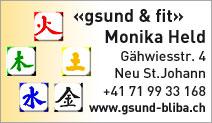 """Gesundheitspraxis """"gsund & fit"""""""