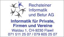 Rechsteiner Informatik und Betur AG