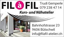 Fil à Fil Kurs- und Nähatelier