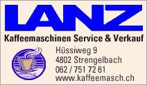 Lanz - Kaffeemaschinen, Service & Verkauf