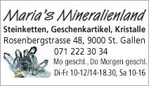 Maria's Mineralienland
