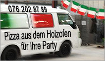 Catering und Partyservice mobile Pizza
