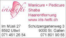 Manicure & Pedicure, Dipl. Praxis Iris Hefti