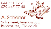 Schreinerei A. Scherrer