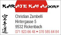 Karate Kai Aadorf