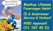 Markus Ulmann Feuerungen GmbH
