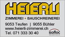 Heierli AG · Zimmerei - Bauschreinerei