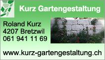 Kurz Gartengestaltung