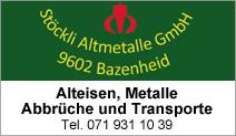 Stöckli Altmetalle GmbH