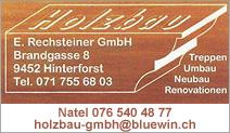 Holzbau E. Rechsteiner GmbH