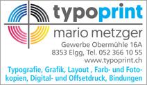 Typoprint Mario Metzger