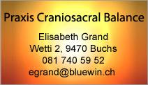 Praxis Craniosacral Balance
