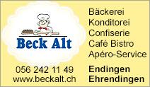 Beck Alt Bäckerei Konditorei