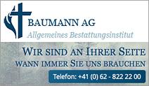 Baumann AG das allgemeine Bestattungsinstitut