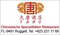 TANG Chinesische Spezialitäten Restaurant