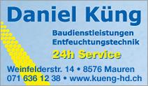Daniel Küng Baudienstleistungen Entfeuchtungstechnik