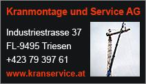 Kranmontage und Service AG