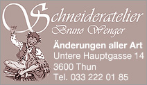 Schneideratelier Bruno Wenger