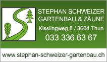 STEPHAN SCHWEIZER  GARTENBAU