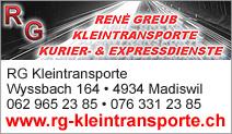 RG Kleintransporte