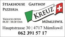 Steakhouse Pizzeria Kreuz