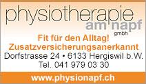 Physiotherapie am Napf GmbH