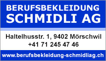 Berufsbekleidung Schmidli AG