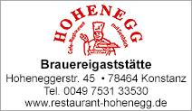 Restaurant Hohenegg