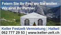 Keller Festzelt-Vermietung