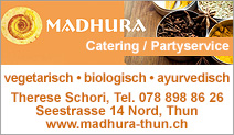 Madhura - Catering / Partyservice