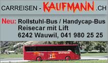 Carreisen Kaufmann – CANUWA KAUFMANN AG