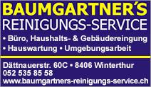 BAUMGARTNER'S REINIGUNGS-SERVICE