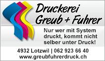 Druckerei Greub + Fuhrer