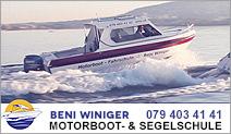 Beni Winiger Segel & Motorboot Schule