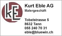 Kurt Eble AG, Malergeschäft