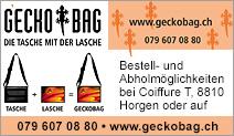 GECKOBAG – Die Tasche mit der Lasche!