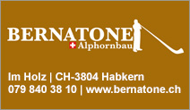 Bernatone Alphornbau