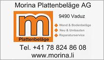 Morina Plattenbeläge AG