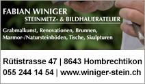 Fabian Winiger Steinmetz & Bildhaueratelier