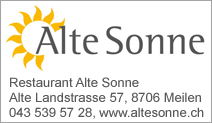 Restaurant Alte Sonne