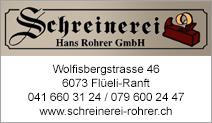 Schreinerei Hans Rohrer GmbH