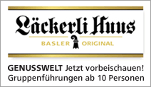 Läckerli Huus AG «Genusswelt»
