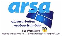 ARSA Gipsergeschäft