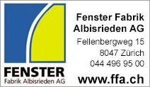 Fenster Fabrik Albisrieden AG